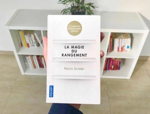 Comment ranger sa maison avec le livre La magie du rangement de Marie Kondo